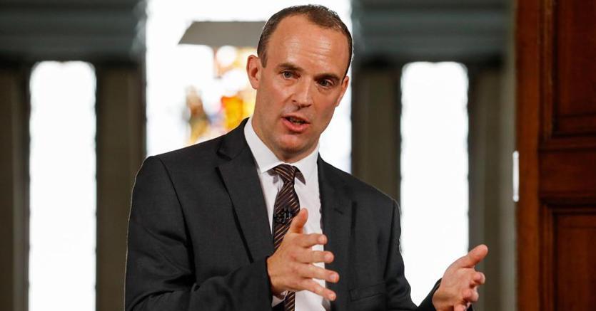 Dominique Raab, responsabile del Governo britannico per l'attuazione di Brexit